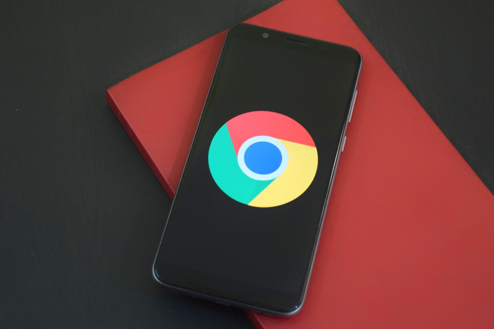 Google Chrome auf Android Handy